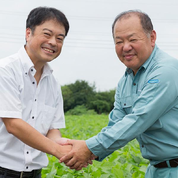 納豆づくりは良い原料選びから始まります