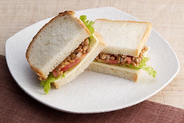 ランチにおすすめ 納豆サンド